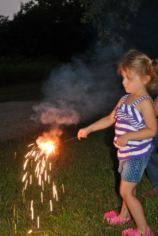 Peanut and sparkler 3