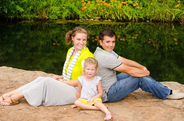 My cousin and her family